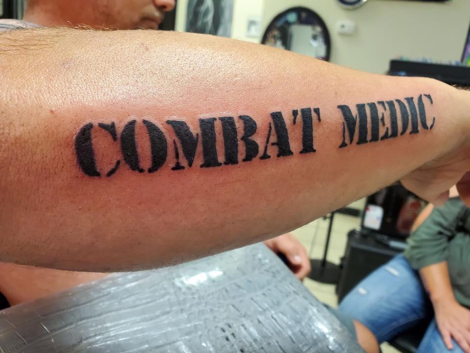 Combat Medic Tattoo